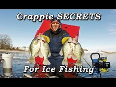 Here is how I catch my crappie through the ice when I am ice fishing! In this video I share some new tips for you guys on locating the crappie through he ice and catching them! Fly Fishing Tips, Fishing Videos, Fishing Girls, Carp Fishing, Ice Fishing, Kayak Fishing, Fishing Hole, Valentine Gifts For Boys