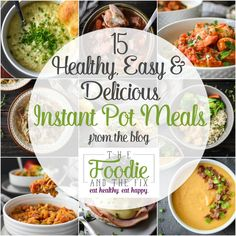 The very best Healthy Instant Pot soup, stew and chili recipes, all with 21 Day Fix container counts! Quick, easy, healthy and delicious family dinners in the Instant Pot! Easy Cooking, Healthy Cooking, Healthy Eating, Cooking Oil, Cooking Pasta, Cooking Recipes, Cooking Ideas, Cooking Broccoli, Meal Planning