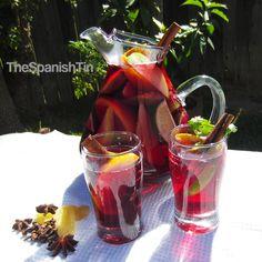 Spiced Sangria Kit, DIY Sangria, Holiday Drinks, Festive Cocktails, Foodie Gift