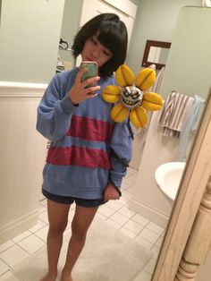 Frisk cosplay from Undertale