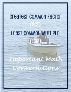 Greatest Common Factor vs.The Least Common MultipleWho doesn't like to read a fun micro play? Included in this freebie are 3 important, but humorous, mathematical conversations with a few practice problems. Also included are an answer key, and a few notes about sharing these mathematical conversations with students. This activity is an effective integration of Language Arts and Math, which works particularly well for students who are more gifted verbally than mathematically. FREE