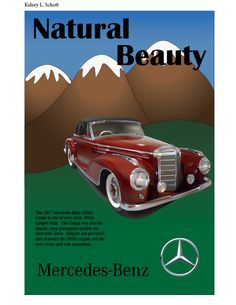 Mercedes-Benz Vintage Ad by Kelsey L. Schott    Copyright © 2012 Chapman University. All rights reserved.