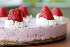 Raw Strawberry Cheesecake by isachandra, via Flickr