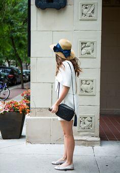 August Style Tips: Sunhats