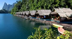 Keine Gegend in Thailand ist idyllischer als der Kao Sok Nationalpark... (Foto Flickr/cc: Stefan Magdalinksi)