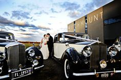 Melbourne wedding photography - classic RR car shot  Witchmount Winery Melbourne  Con Tsioukis of Alex Pavlou Photography