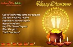 Dhanteras Wishes SMS Quotes Status Shayri Whatsapp Status Images Dhanteras Wishes Images, Happy Dhanteras Wishes, Diwali Wishes, Happy Diwali, You Are Blessed, Are You Happy, Navratri Wishes