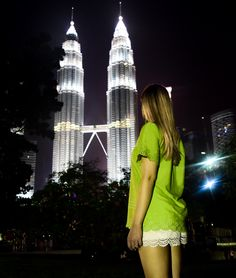 TMC Best-of Kuala Lumpur:  Best things to do, places to eat and drink, best place to stay and what do wear.  Malaysia - Petronas Twin Towers www.travelmechic.com Kuala Lumpur Travel, Things To Do, Good Things, Hot And Humid, Places To Eat, Towers, Twin, To Go, Building