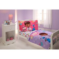 Disney Doc McStuffins 4-Piece Toddler Bedding Set