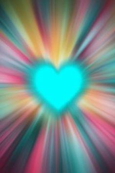 Aqua Radiant Heart