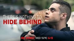 Mr. Robot - There's Nothing To Hide Behind. #MrRobot #TV #RamiMalek…