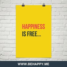 Happiness  is free... #195533