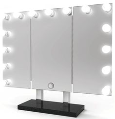 Trifold Hollywood Tabletop Mirror TM-450 is now $399.99 (our Valentine's Day Special!!)