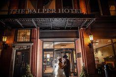 Walper Terrace Hotel wedding winter, Kitchener