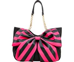 BOW TAILS SATCHEL: Betsey Johnson