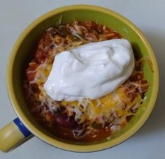 This chili recipe is quick and easy to make, and will taste like you Chili, Soup, Easy, Recipes, Chile, Soups, Ripped Recipes, Chilis