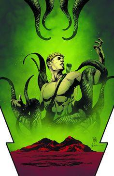 Green Arrow #21 Virgin Cover #GreenArrow #New52 #DC (Cover Artiest: Andrea Sorrentino) On Sale: 6/5/013