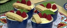 Ingredients 1 basket fresh ripe organic cups heavy cup whole cup tablespoons large large egg teaspoon pure vanilla extract Italian Dishes, Italian Recipes, Tummy Yummy, How To Cook Eggs, Chocolate Pudding, Baked Goods, Raspberry, Sweet Treats, Deserts