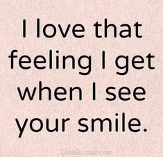 Relationship Quotes - From my everything ❤️ Her Smile Quotes, Love Quotes Crush, Romantic Quotes F. Love Quotes Funny, Love Quotes For Her, Inspirational Quotes About Love, Best Love Quotes, New Quotes, Quotes For Him, Be Yourself Quotes, Words Quotes, Quotes To Live By