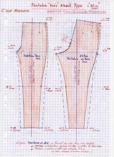 Transformer un pantalon de base en slim