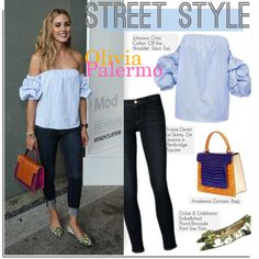 How To Wear Street Style Olivia Palermo Outfit Idea 2017 - Fashion Trends Ready To Wear For Plus Size, Curvy Women Over 20, 30, 40, 50