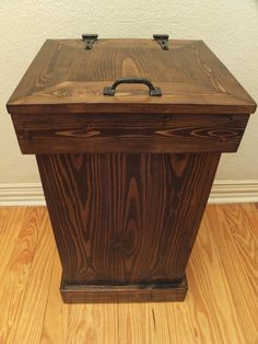 Superieur Wooden Trash Cans   Google Search