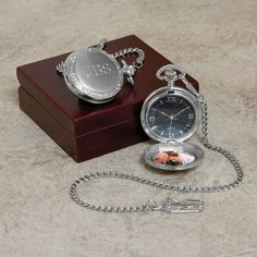 Photo Pocket Watch for Father of the Bride