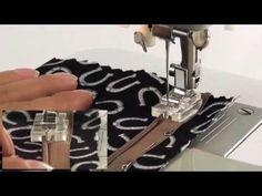 Лапка для вшивания потайной молнии AU-104 - YouTube