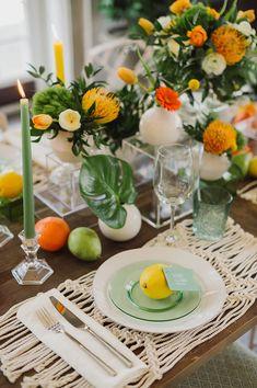 Citrus Wedding Ideas  //  Ruffled Blog