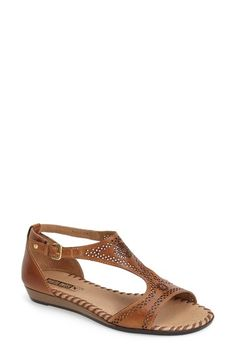 PIKOLINOS 'Alcudia' Perforated Leather Sandal (Women) available at #Nordstrom