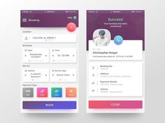 Gotta love the gradients in the buttons of this booking app design by Rifayet Uday. - - - - - #app #appdesign #design #designer #dribbble #behance #iosdesign #iosinspiration #iosinterface #iphonedesign #iphoneinspiration #iphoneinterface #mobiledesign #mobileinspiration #mobileinterface #ui #ux #userinterface #userexperience #uidesign #uxdesign #interfacedesign #wireframe #digitaldesign #webdesign #materialdesign #minimalistdesign #visualdesign #userinterfacedesign #dailyui