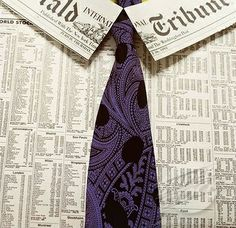 newspaper dress shirt