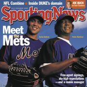 New York Mets Carlos Beltran and Pedro Martinez - March 11, 2005