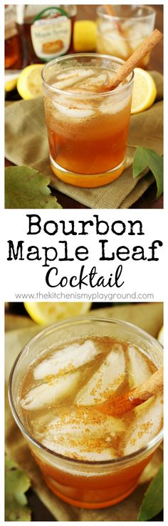 Yuzu Maple Leaf Cocktail Recipe — Dishmaps
