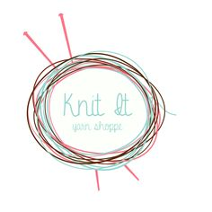 Pre-made Knitting Logo by focusdesigns on Etsy https://www.etsy.com/listing/123003364/pre-made-knitting-logo