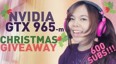 GTX 965-m + Games Christmas GIVEAWAY [BreakTime 6]