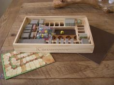 A Complete Carcassonne Box by Intarsiabydesign on Etsy