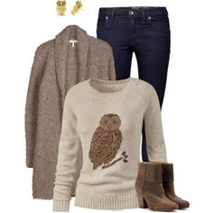 """Owl Love You Forever"" by aaauty on Polyvore"