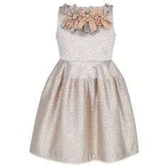 I Pinco Pallino Sleeveless Champagne Dress