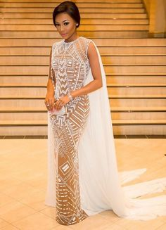 Reception dress for weddings all the way gorgeous train or cape with design on dress WELCOME TO TATAFO NAIJA .d talk talk place African Wedding Dress, African Dress, Egyptian Wedding Dress, Bridal Gowns, Wedding Gowns, Nigerian Weddings, Black Bride, Yes To The Dress, Wedding Attire
