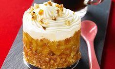 Recette de Tiramisu glacé pommes fondantes et sablés bretons Desserts In A Glass, Mini Desserts, Sweet Desserts, Dessert Recipes, Thermomix Desserts, Love Food, Bakery, Food And Drink, Yummy Food
