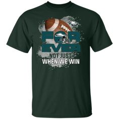 For Ever Not Just When We Win South Florida Bulls T Shirt - Votacolors - Victory of the Arts Philadelphia Eagles Shirts, Kansas City Chiefs Shirts, New Style Tops, Aunt T Shirts, Eagles Nfl, When Us, Cool Shirts, Mens Tops, Pittsburgh Steelers