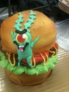Plankton's Krabby Patty