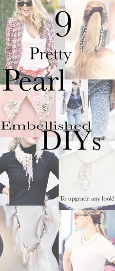 DIY Archives – Pearl DIYs // T-shirts, Jeans, Necklaces, Hair Accessories +
