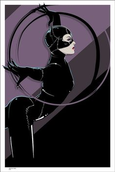 Catwoman by Craig Drake Art gallery/online store Mondo will opens its Batman 75th Anniversary Gallery show on Oct. 24 at the Mondo Gallery in Austin, Texas.