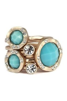 """""""love"""" these stack rings!"""