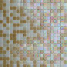 MOSAICOS LUSTRE: LUSTRE BEIGE MIX 33x33 cm
