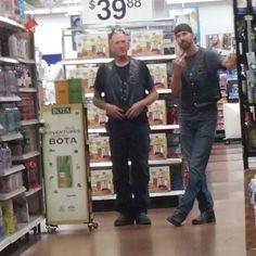 Caution Be careful in Walmart....