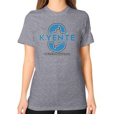 SurfsUp Kyente Unisex T-Shirt (on woman)
