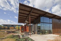 Desert House in Santa Fe by Lake|Flato Architects « Awesome Architecture